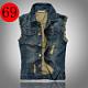 мужская джинсовая жилет оптом - Купить оптом мужская джинсовая.